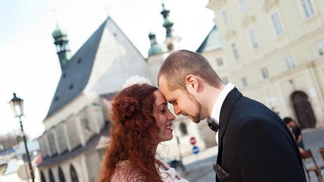 Katka & Tomáš 11.04.2015 Banská Štiavnica