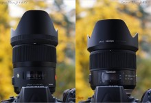 Sigma 35mm f/1,4 DG HSM Art vs Tamron 35mm f/1.8 Di VC USD – test / review
